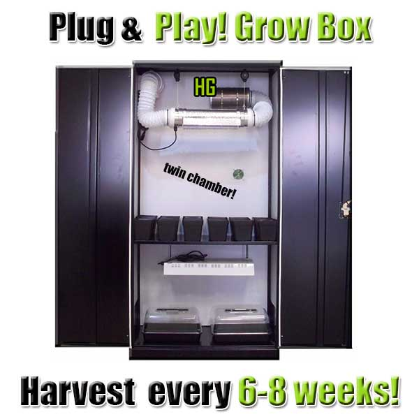 Large Stealth Grow Box