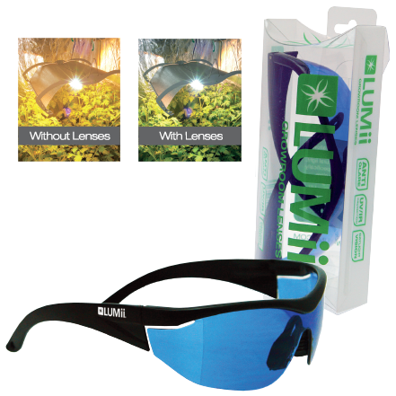 Lumii Growroom light Glasses