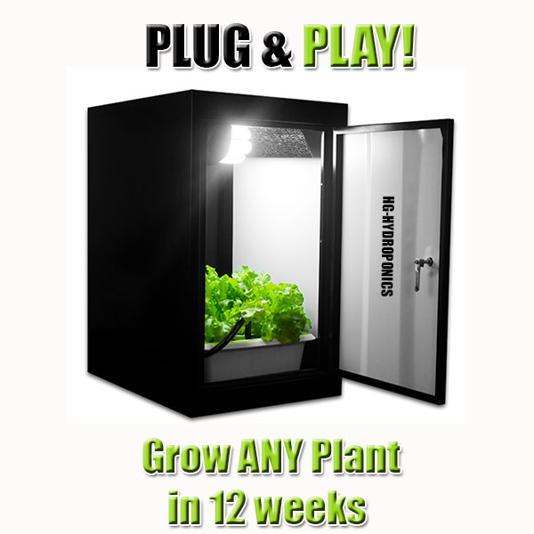 The Hobby Stealth Grow Cabinet